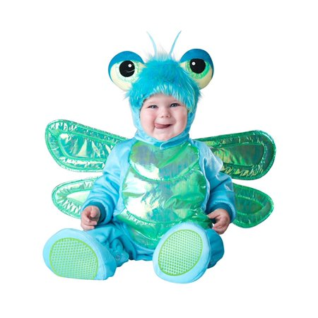 Costumes Baby's Dinky Dragonfly Costume, Dragonfly LLC Polyester Dino Large Baby Infant Costumes Dragon 100 Babys Newborn Dinosaur Bas Costume.., By InCharacter