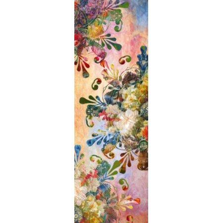 Flower Mandala 2 Stretched Canvas - Aimee Stewart (6 x -