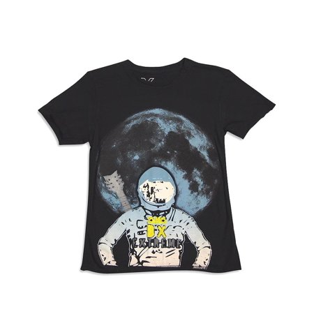 DX-Xtreme - Little Boys Short Sleeve T-Shirt black astronaut / 5