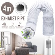 13FT Flexible Portable Air Conditioner Spare Parts Flexible Exhaust Pipe Vent Hose Outlet 3-10 Inch Diameter