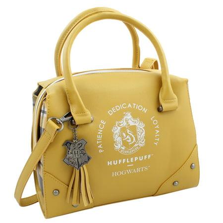 Harry Potter Purse Designer Handbag Hogwarts Houses Womens Top Handle Shoulder Satchel (2008 Designer Handbags)