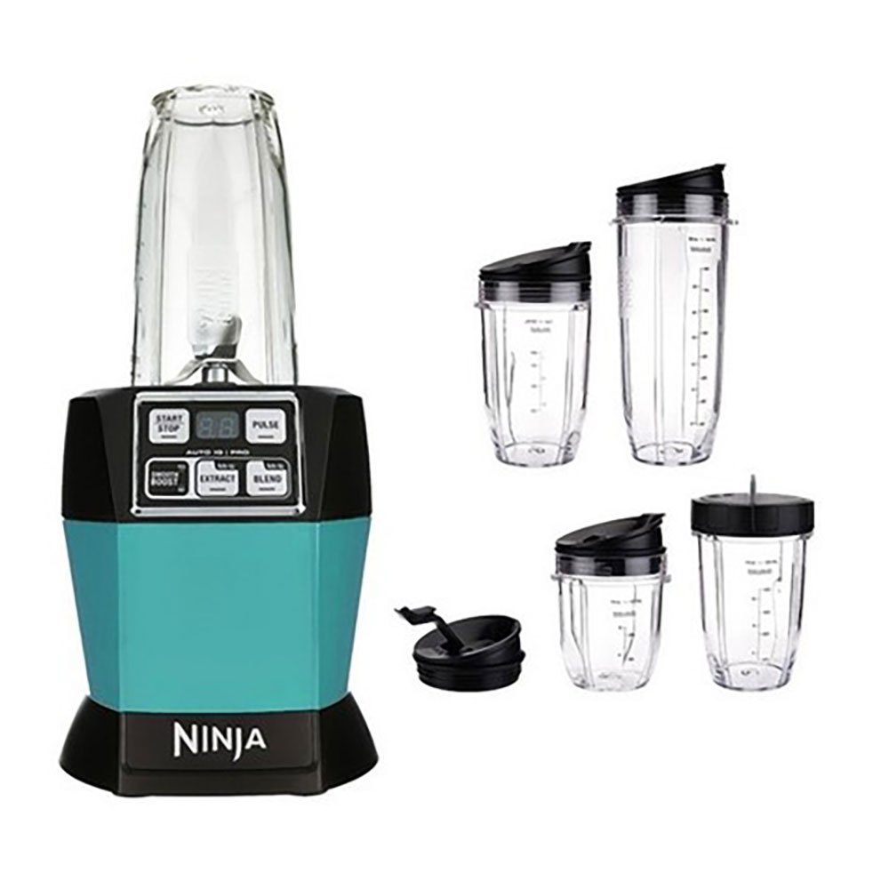Nutri Ninja Auto iQ Pro Complete Counter Blender, Green (Certified Refurbished)