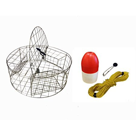 Sacrificial Zinc Anode (KUFA Stainless Steel Round Crab Trap with sacrificial Anode Zinc & 1/4