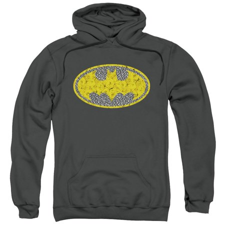 Batman Elephant Rose Signal Mens Pullover Hoodie