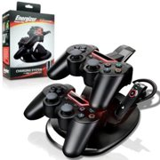 PDP Dual Energizer Charge Station To Controllers Charger For Sony PlayStation 3 Controller