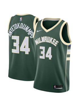 6f6c3e0290d Product Image Giannis Antetokounmpo Milwaukee Bucks Nike Swingman Jersey  Green - Icon Edition