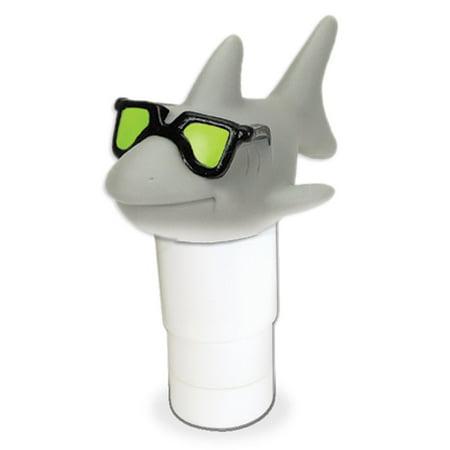 Hydrotools 87271 Shark Large Capacity Floating Pool Chemical Chlorine Dispenser