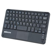 KKmoon 59 Keys Ultra Slim Thin Mini Keyboard with Touch Pad Panel for Android for Windows PC Tablet Smartphone