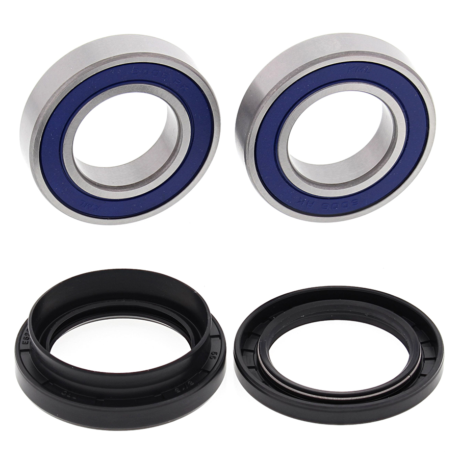 Pair of Rear Wheel Bearing /& Seal Kits 2000-2001 Suzuki Quad Master 500