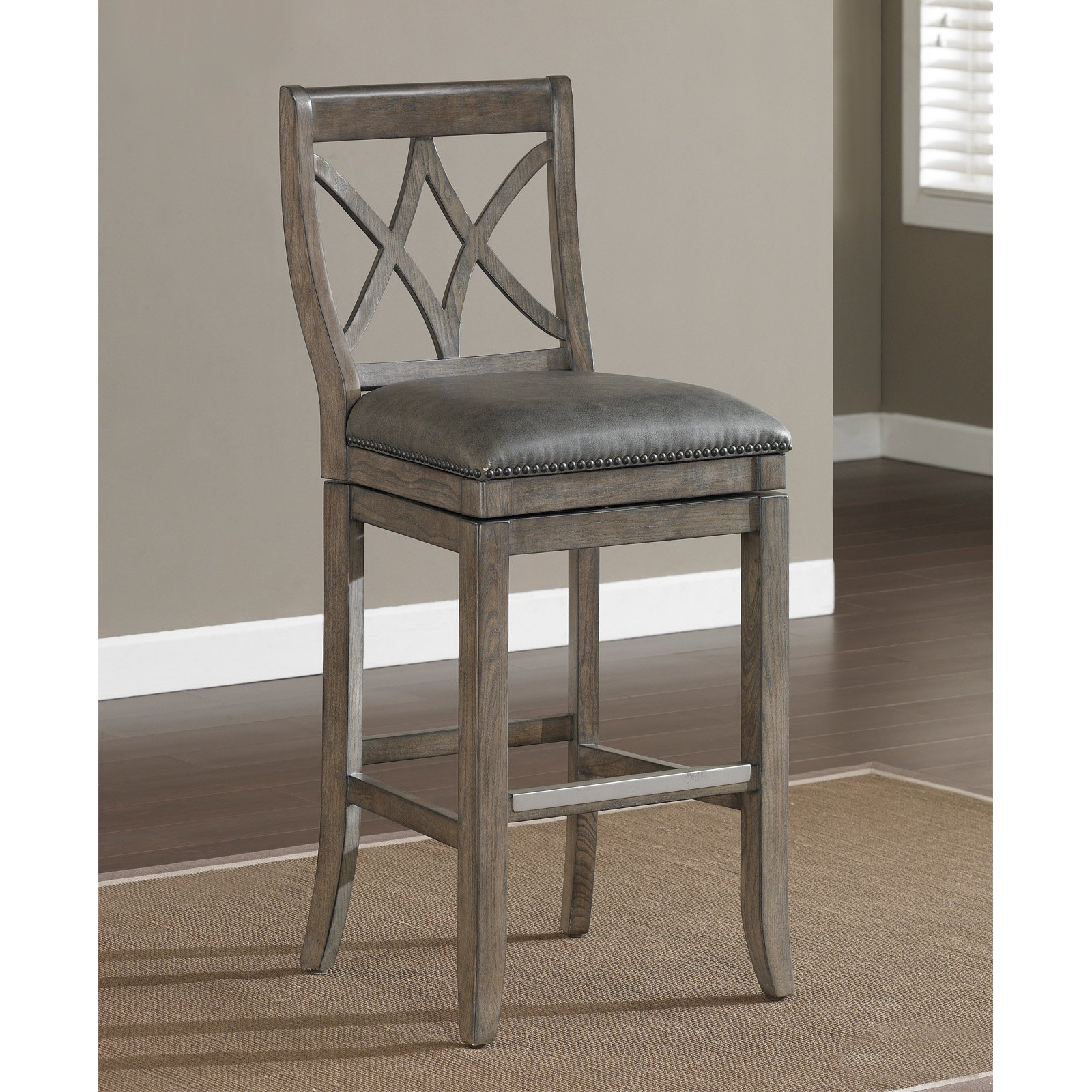 Awesome Grey Counter Height Bar Stools Part - 4: Walmart.com