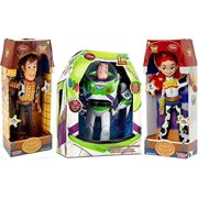 Toy Story Woody, Buzz Lightyear, Jessie Cowgirl TALKING action figure Dolls by - Woody Lightyear