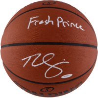 """Ben Simmons Philadelphia 76ers Autographed Spalding Basketball with """"Fresh Prince"""" Inscription - Upper Deck - Fanatics Authentic Certified"""