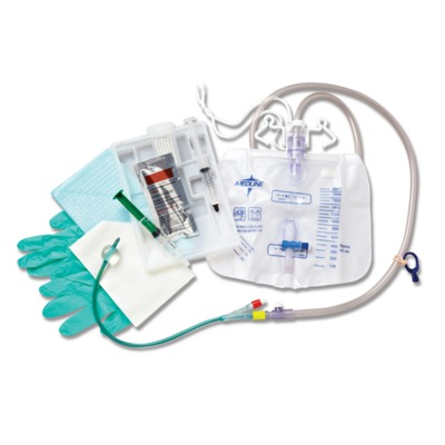 Silvertouch 100% Silicone Closed System Foley Catheter Trays,10.00 CCM DYND14...