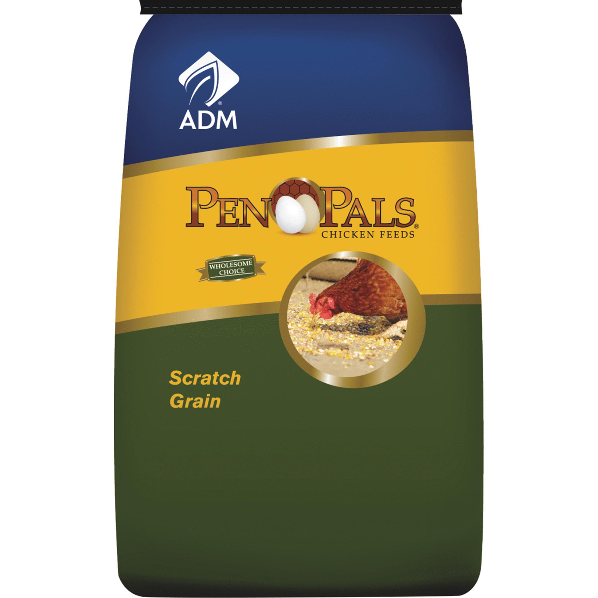ADM Alliance Nutrition 80181AAA14 50 lbs. Chicken Scratch Grains
