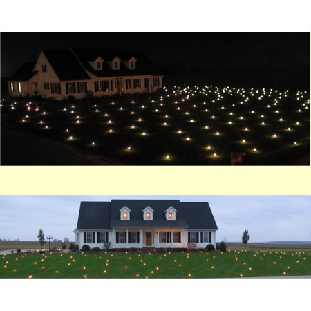 Lawn Lights Illuminated Outdoor Decoration, LED, Christmas, Cover Entire Lawn in Lights! New, Unique, Classy ()