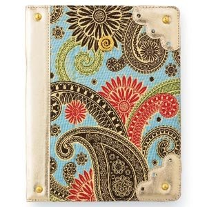 Mud Pie Blue Paisley iPad Case