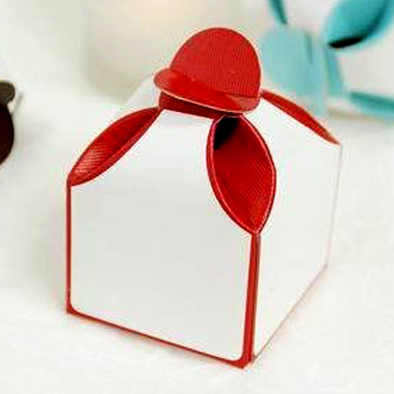"""BalsaCircle 100 2 Tone 2"""" Wedding Favor Boxes - Wedding Party Candy Gifts Decorations Supplies"""