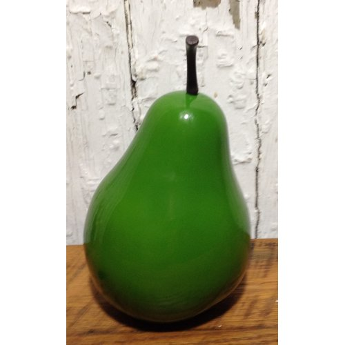 Mills Floral Company Stone Fruit Pear Statue