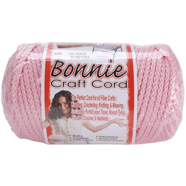 Pepperell Braiding BB6-100-011 Bonnie Macrame Craft Cord 6mm 100 Yards