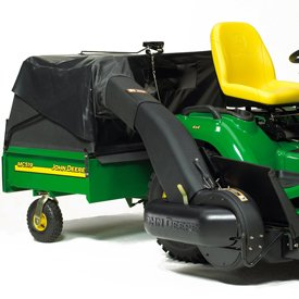 Mc519 Material Collection Cart Bagger For John Deere Mowers