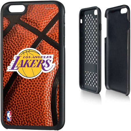 Los Angeles Lakers Basketball Design Apple iPhone 6 Plus Rugged Case by Keyscaper by