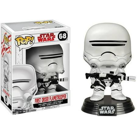 Funko Pop  Star Wars  The Last Jedi   First Order Flametrooper