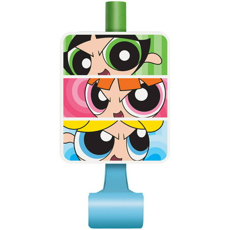 New Years Party Blowers (Powerpuff Girls Party Blowers,)
