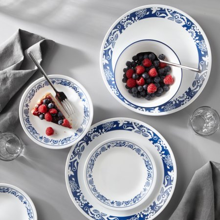 Corelle Livingware True Blue 16-Piece Dinnerware