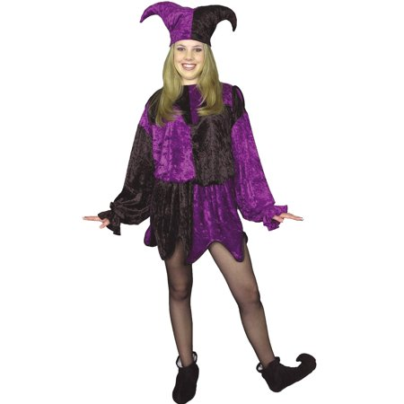 Jester Adult Plus Costume - Jester Costume