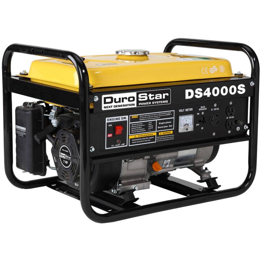 DuroStar 4000 3300W Portable Recoil Start Generator by Generic