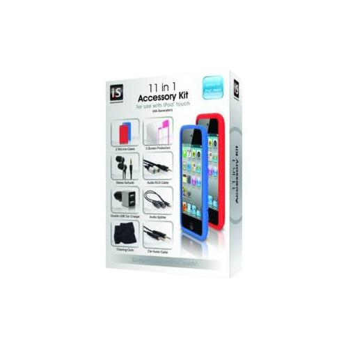 I.sound i.Sound 11 in 1 Accessory Kit for 4th Generation iPod Touch 2GB1044