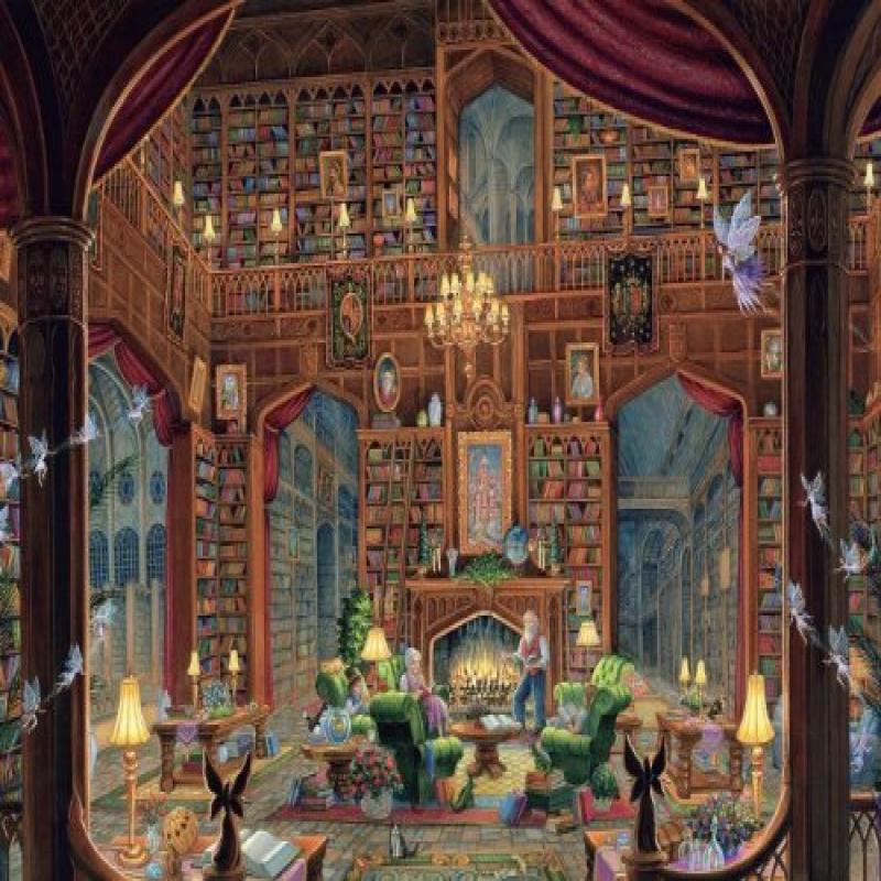 Ravensburger Sanctuary of Knowledge Puzzle 1000 Pieces by