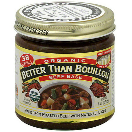 Superior Touch Better Than Bouillon Organic Beef Base, 8 oz (Pack of -