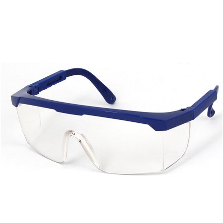 Plastic Adjustable Arms Welding Dust Goggles Protector Glasses