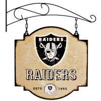 "Las Vegas Raiders 16"" x 16"" Tavern Sign - Cream"