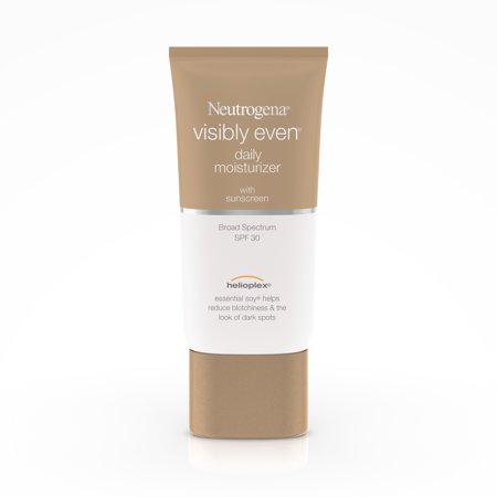 Neutrogena Visibly Even Daily Facial SPF 30 Moisturizer, 1.7 fl.