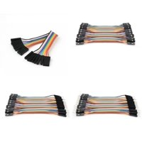 Many Helicopter Quadcopter Airplane Boat Car Controller [QTY: 1] Dupont 40 Qty 10cm 2.54mm 1pin Female to Jumper Wire Cables [QTY: 1] Male [QTY: 1] [QTY: 1] (100mm) Super Clean RC Ribbon Extensions Se