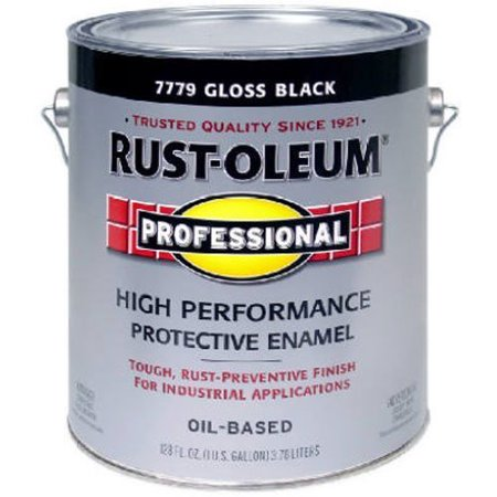 RUST-OLEUM 242253 Professional Gallon Black Gloss -