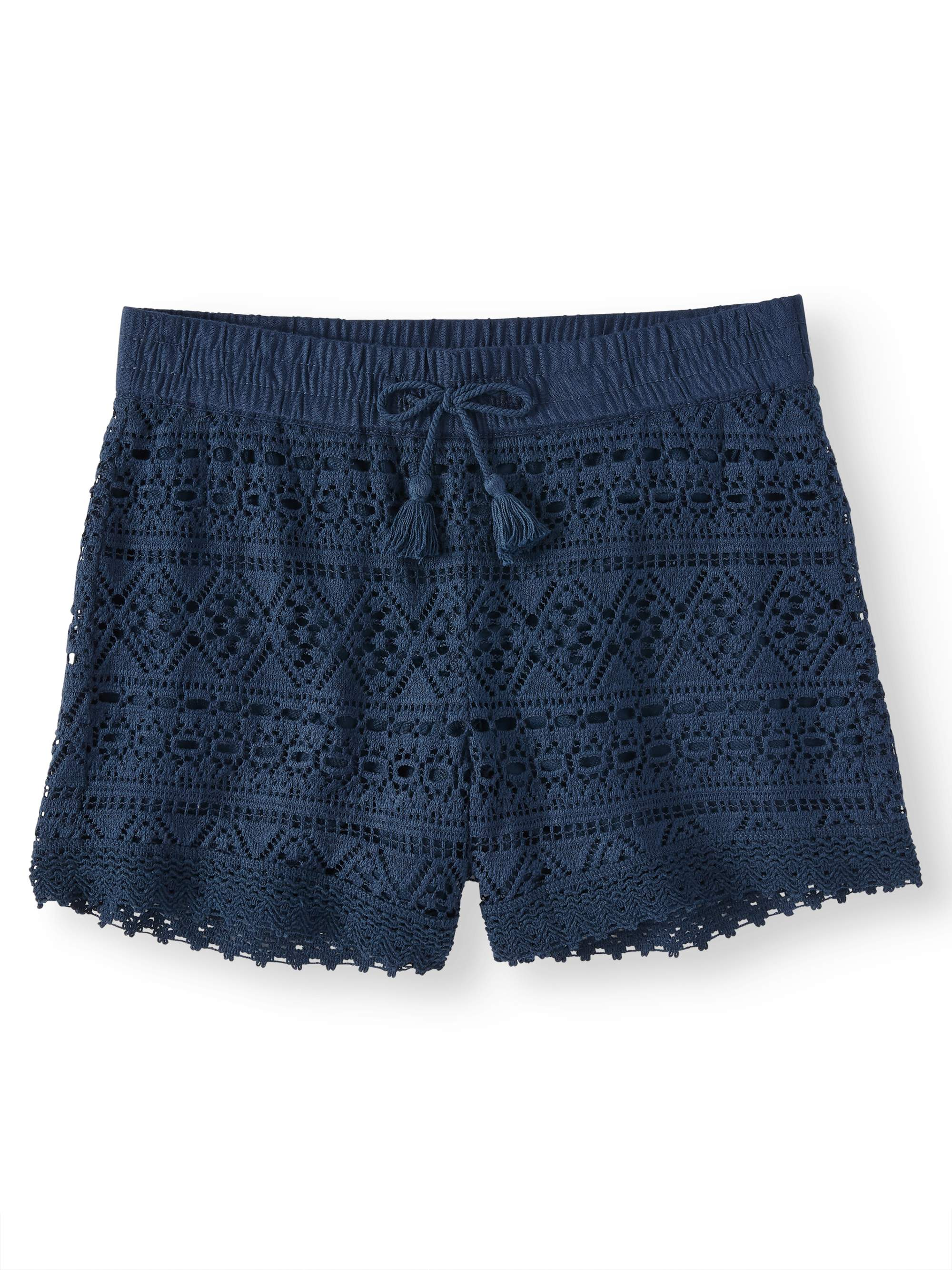 Crochet Short (Little Girls, Big Girls & Big Girls Plus)