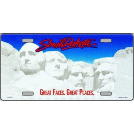 South Dakota State Look A Like Metal License Plate ()