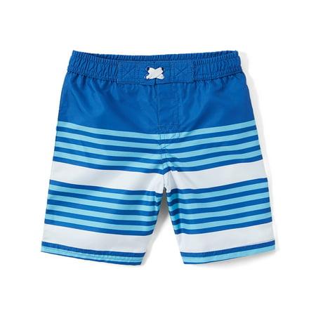 Freestyle Revolution Striped Swim Trunk (Baby Boys & Toddler (Mens Swimwear Styles)