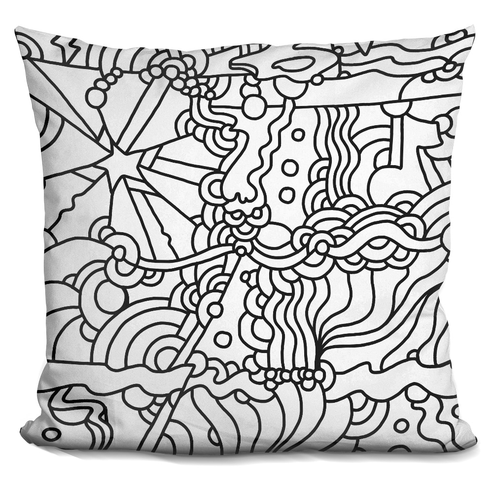 LiLiPi Mambo 216A Decorative Accent Throw Pillow
