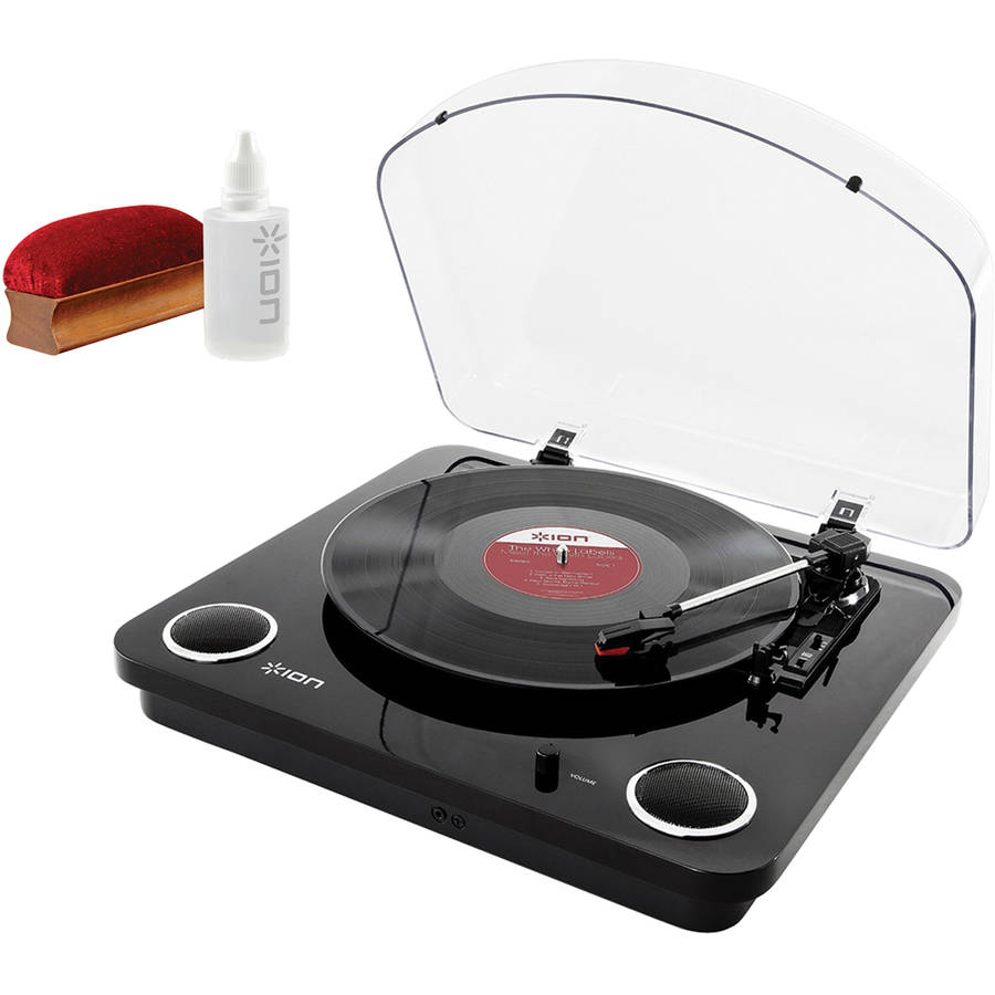 ION IT54B Max LP Conversion Turntable and ICT07 Restoration Kit by ION Audio