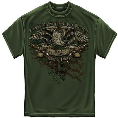 Patriotic 2Nd Amendment Eagle Tattoo T Shirt