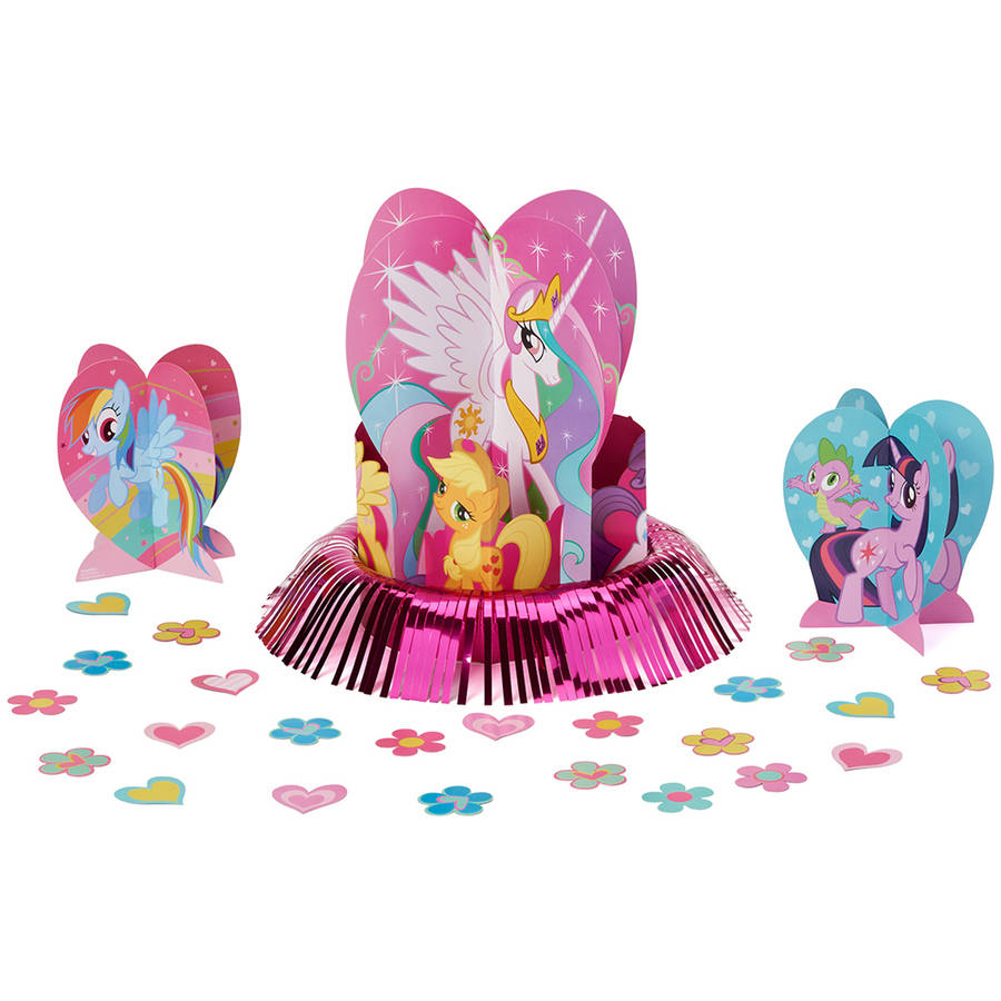My Little Pony Friendship Centerpiece Kit