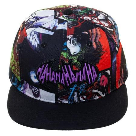Joker Hat (Baseball Cap - Joker - Sublimated Snapback New)