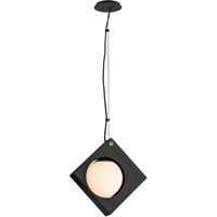 Pendants 1 Light With Textured Black Finish Hand-Worked Aluminum Material LED 10 inch Wide 12 Watts