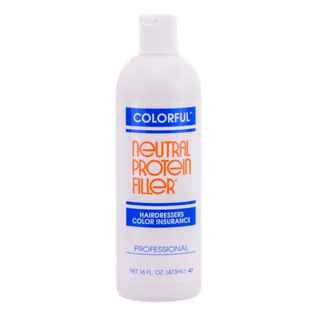 Colorful Neutral Protein Filler - Hair Dressers Color Insurance - Size : 16 oz](Fake Chest Hair)
