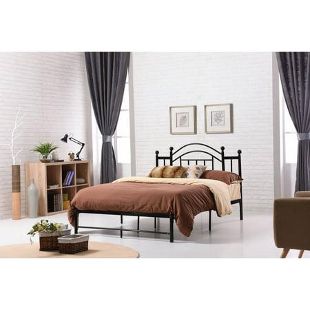 Hodedah Metal Bed, Multiple Colors ()