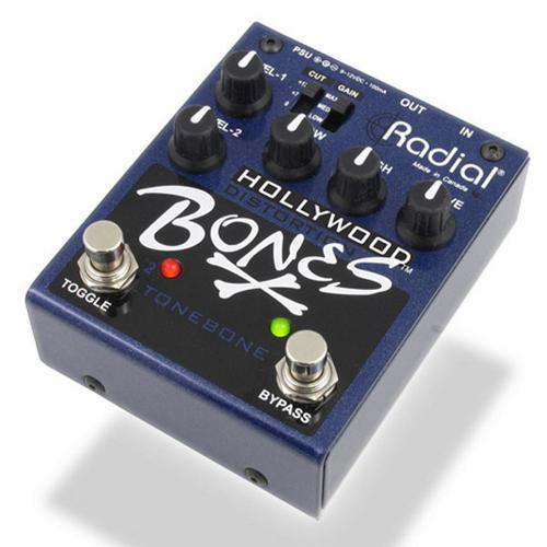 Radial Hollywood Bones Distortion Effect Pedal